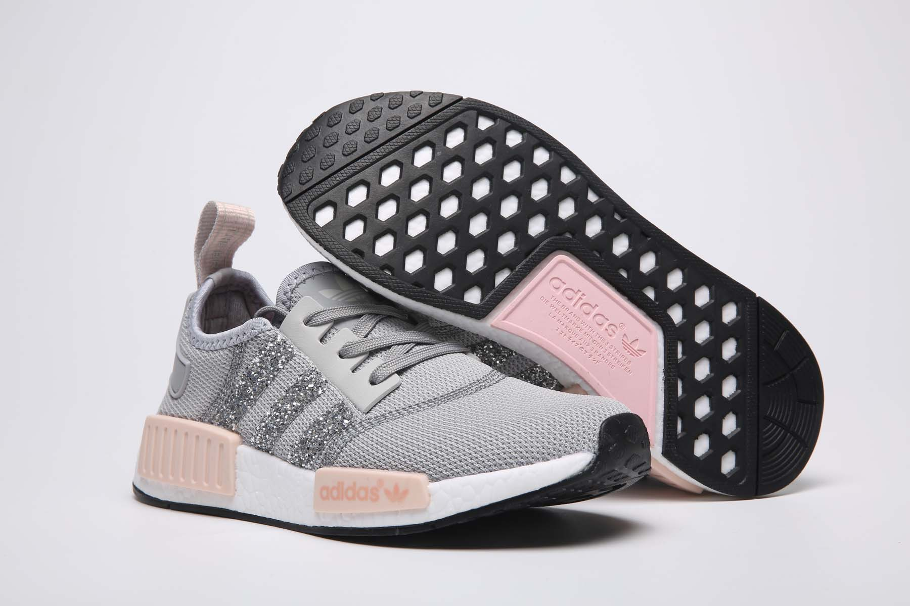 adidas nmd gray Sequins
